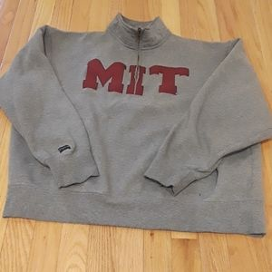 MIT Official  college Zippered Sweatshirt